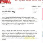 """Annuncio del concerto di R. Andrew Lee al Daniel Goode's Loft di New York (in programma il mio """"Nettuno e Tritone"""")"""