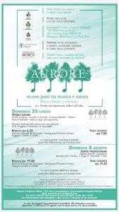 Depliant del progetto Aurore